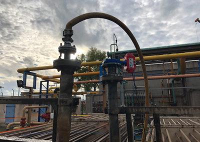 Requalification décennale épingles - Air Liquide Méditerranée