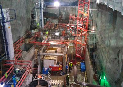 Centrale hydroélectrique - Etudes, supervision du chantier et mise en service - EDF Gavet