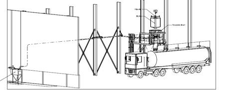 Réalisation d'un poste de remplissage camion citerne - POUDRES HERMILLON