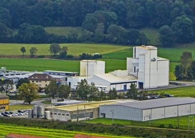 Extension d'une usine de production -  SPIE  Projet Phoenix chez Cargill (Lucens - Suisse)