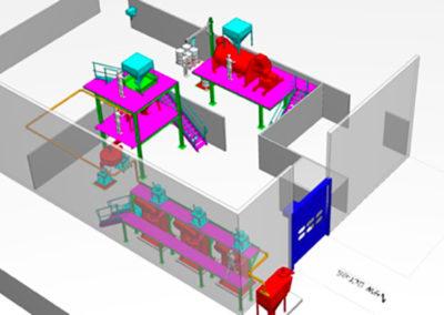Avant-projet et étude de détail pour la réalisation d'un atelier de broyage cryogénique - USNP